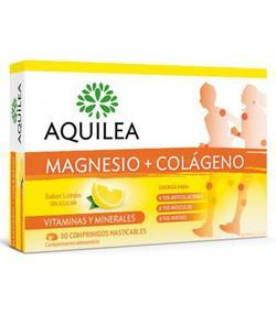 AQUILEA magnesio+colageno 30comp masticables