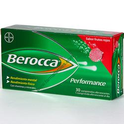BEROCCA performance frutos rojos efervescente 30comp