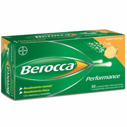 BEROCCA performance MANGO efervescente 30comp