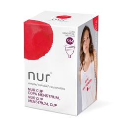 NUR cup copa menstrual Talla S/M